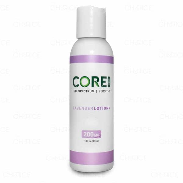 Core CBD Lavender Lotion