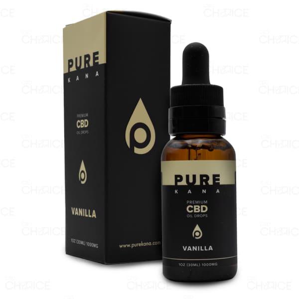 PureKana Vanilla CBD Oil, 1000mg
