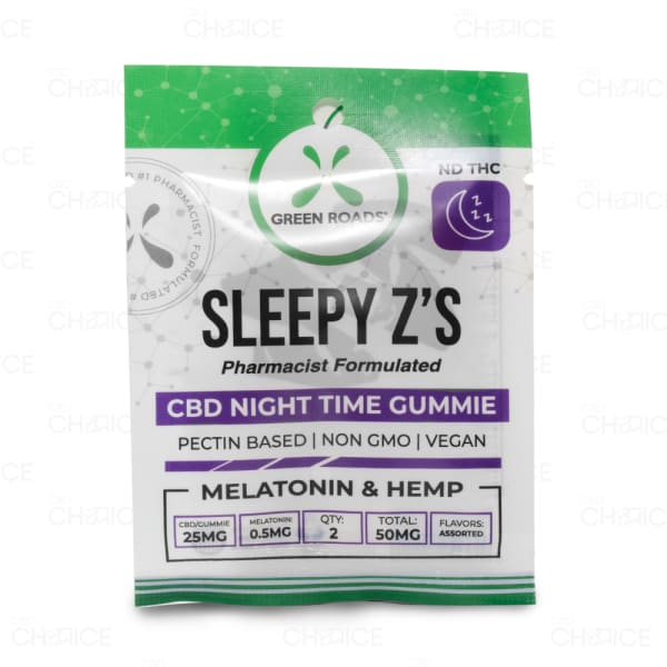Green Roads Sleepy Z's Gummies 50mg