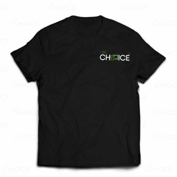 Black CBD Choice T-Shirt