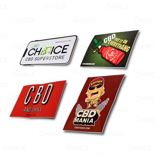 CBD Choice Stickers