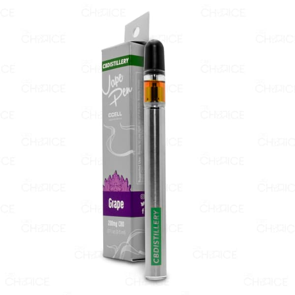 CBDistillery Grape Vape Pen, 200mg