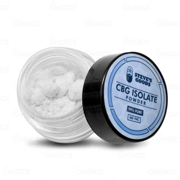 Steve's Goods Pure CBG Isolate powder