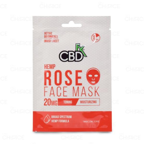 CBDfx Rose Face Mask