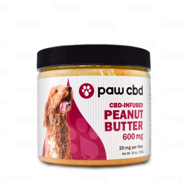 Paw CBD Peanut Butter, 600mg