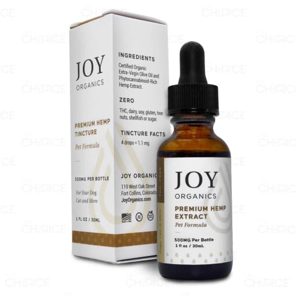 Joy Organics Premium Oil for Pets, 500mg
