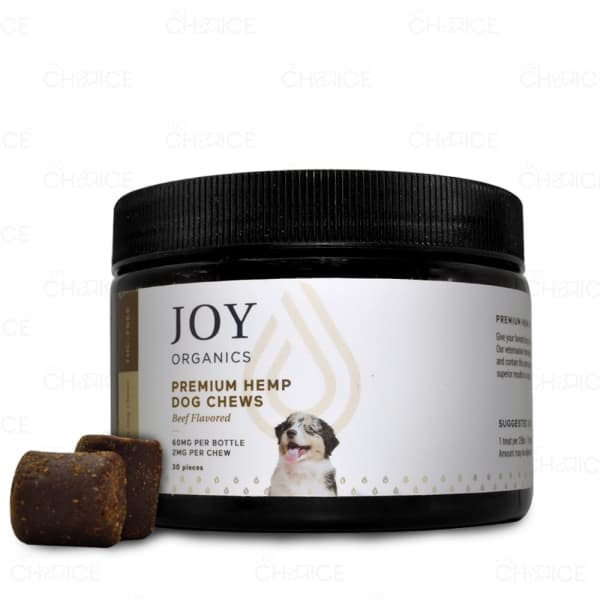 Joy Organics CBD Pet Chews, 60mg