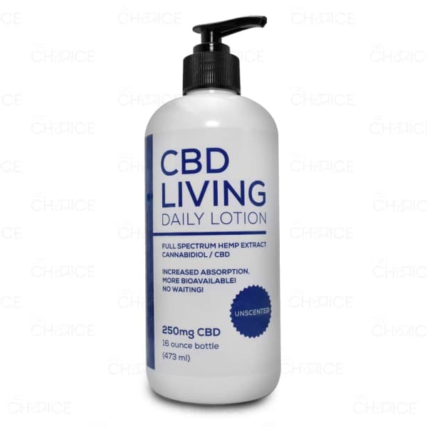CBD Living Daily Lotion