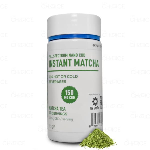 CBD Living Matcha Green Tea