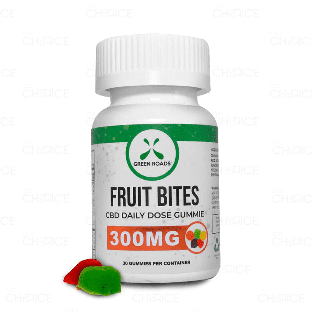 Green Roads Gummy CBD Fruit Bites