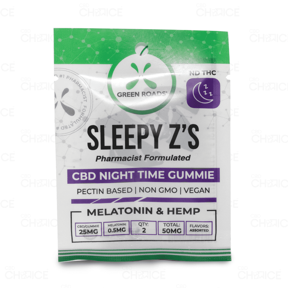 Green Roads Sleepy Z's Gummies