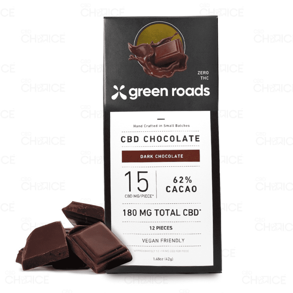 Green Roads CBD Dark Chocolate Ba