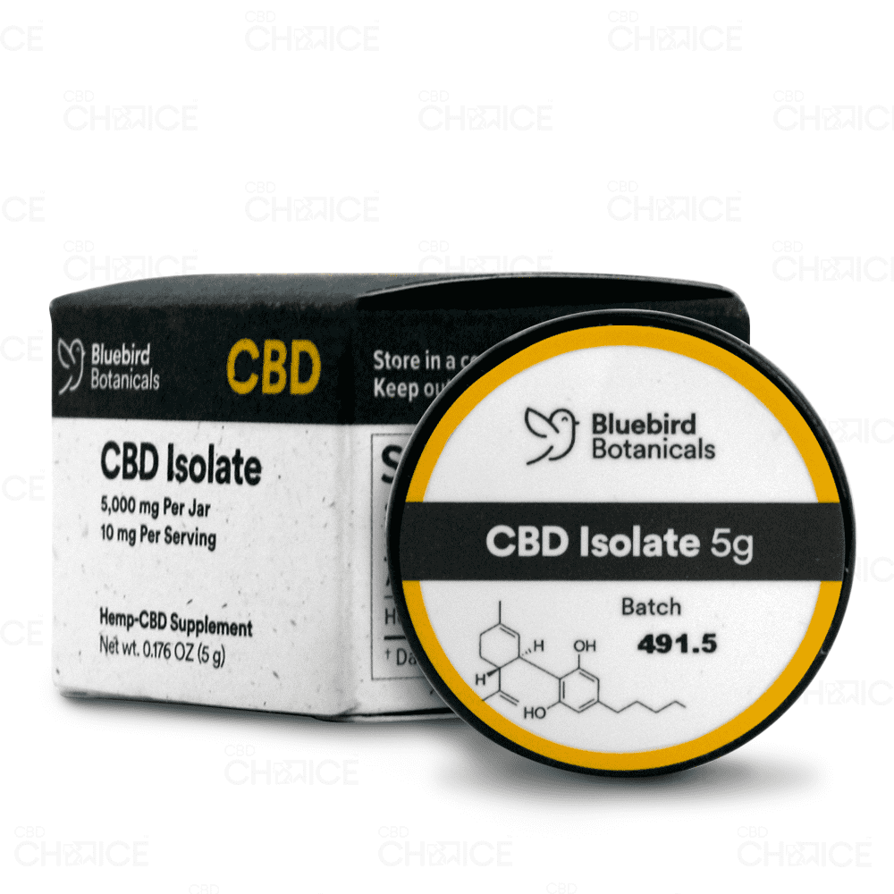 Bluebird Botanicals | CBD Isolate Powder