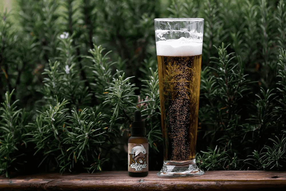 Crack open a CBD beer