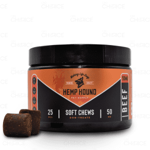 Hemp Hound Beef Soft Chews for Dogs