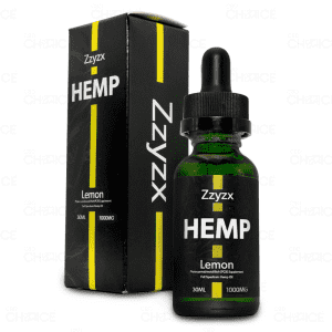 Zzyzx Lemon CBD Oil 1000mg