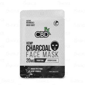 CBDfx Charcoal Face Mask