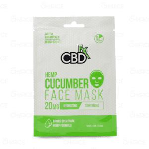CBDfx Cucumber Face Mask