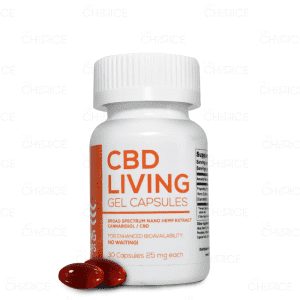 CBD Living Broad Spectrum Capsules