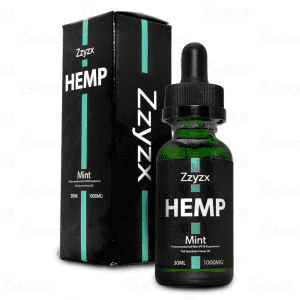 Zzyzx Mint CBD Oil 1000mg tincture