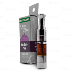 CBDistillery Grand Daddy Purp Vape Cart