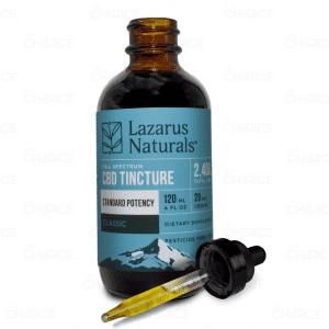 Lazarus Naturals Classic Standard Potency CBD Oil, 2400mg