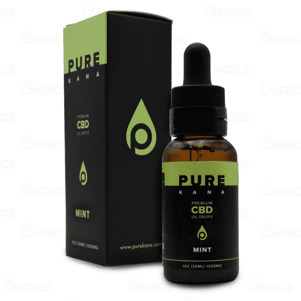 PureKana Mint CBD Oil, 1000mg