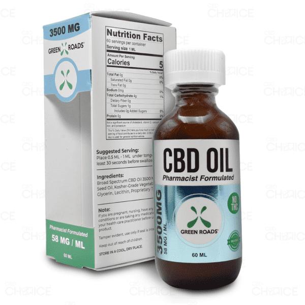 Green Roads CBD Oil 60ml tincture