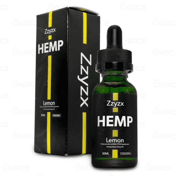 Zzyzx Lemon CBD Oil 1000mg