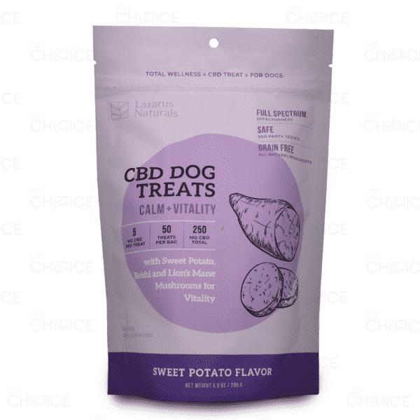 Lazarus Naturals Calm + Vitality CBD Dog Treats