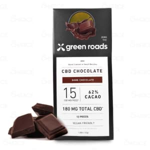 Green Roads CBD Dark Chocolate