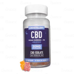 CBDistillery Nighttime Vegan CBD Gummies