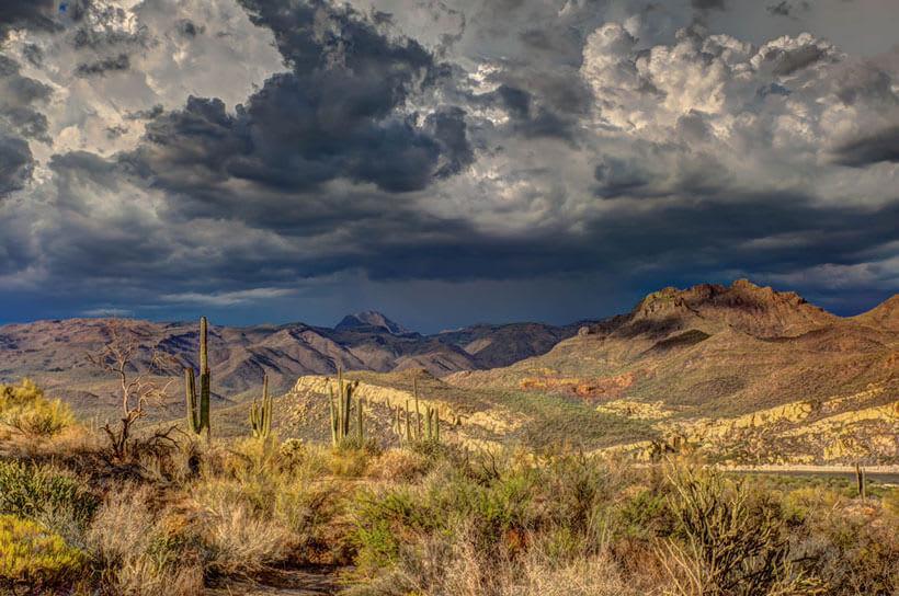 Scenic Arizona Landscape