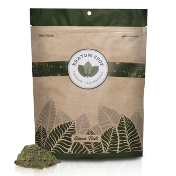 Green Bali Kratom Powder, 16oz