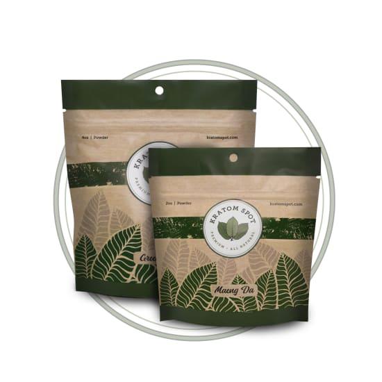 Green Strain Kratom Sample Pack