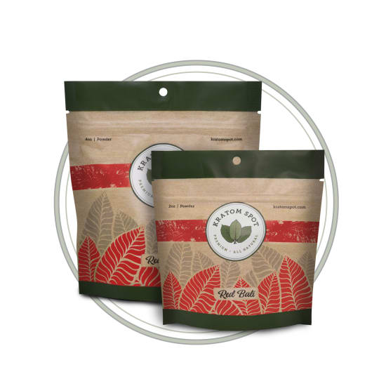 Red Strain Kratom Sample Pack