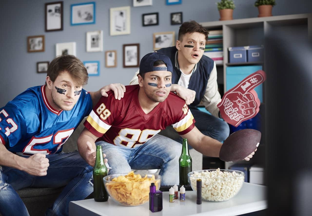 CBD for Super Bowl stress