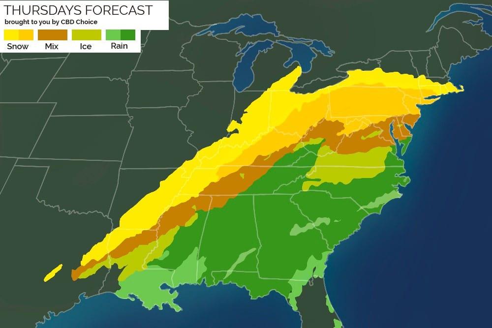 Winter Storm Viola Shipping Delays