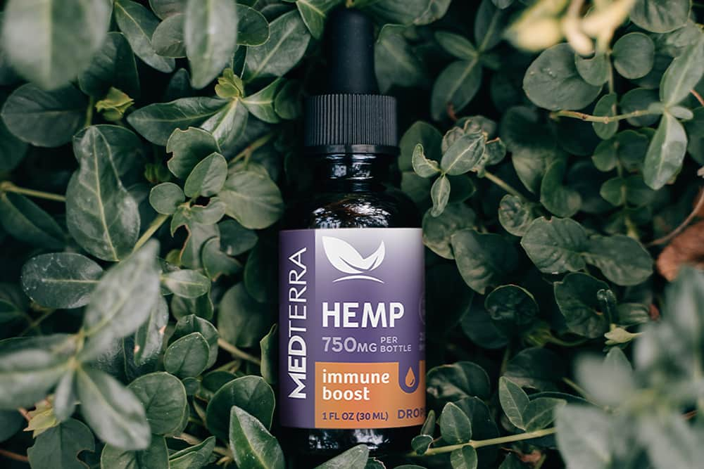A tincture of Medterra Immune Boost Drops because we like them okay.