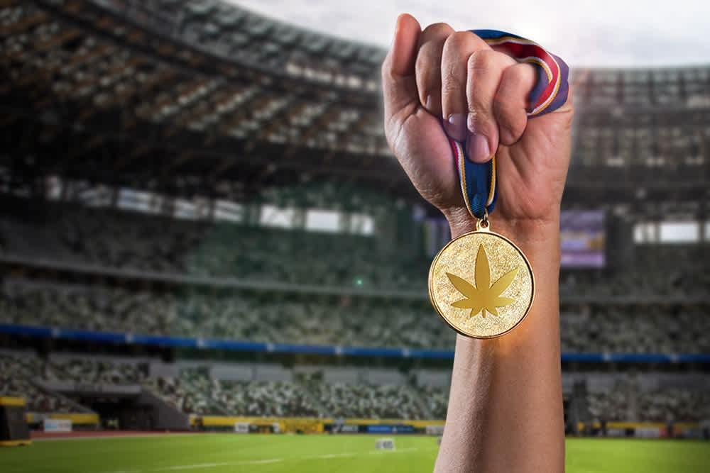 Cannabis at the Olympics