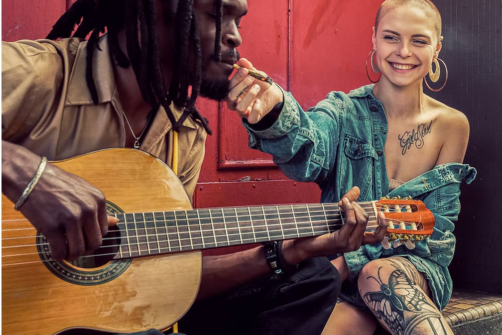The Relationship Between Cannabis and Music