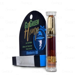 GoGreen Hemp, Blueberry OG Vape Cart