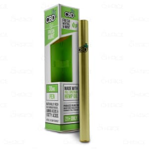 CBDfx Vape Pen, Fresh Mint, 30mg