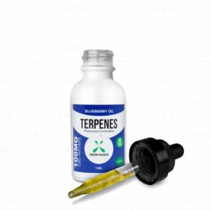 Green Roads Blueberry OG Terpenes 100mg, front