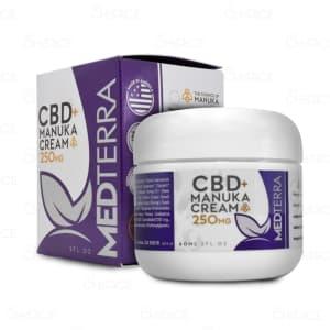 Medterra CBD Manuka Cream, 250mg