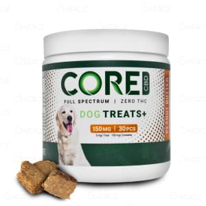 Core CBD Peanut Butter Dog Treats