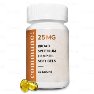 Commune Broad Spectrum Softgels