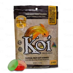 Koi Tropical Fruit Gummies, 200mg