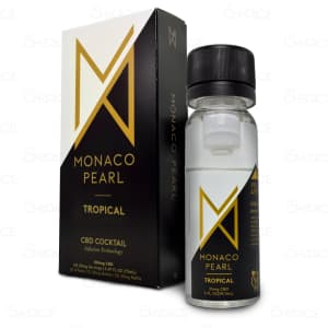 Monaco Pearl Tropical CBD Cocktail, unboxed