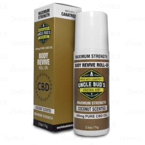 Uncle Bud's CBD Roll-On, 240mg